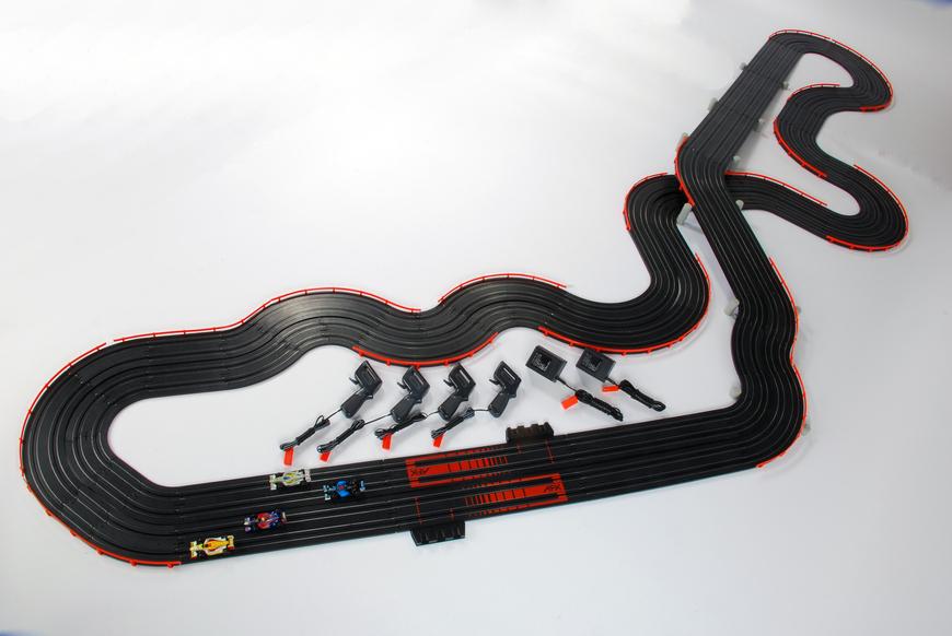 Afx Racemasters Super International Slot Cars Set
