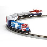 HO GP38-2 Iron Horse Train Set, GT/Bicentennial