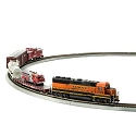 HO First Responder Train Set, BNSF