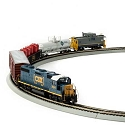 HO Iron Horse Train Set, CSX