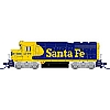 Atlas, GP30 DCC/Ready - Santa Fe #2710