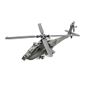 Micro AH-64 Apache helicopter BNF