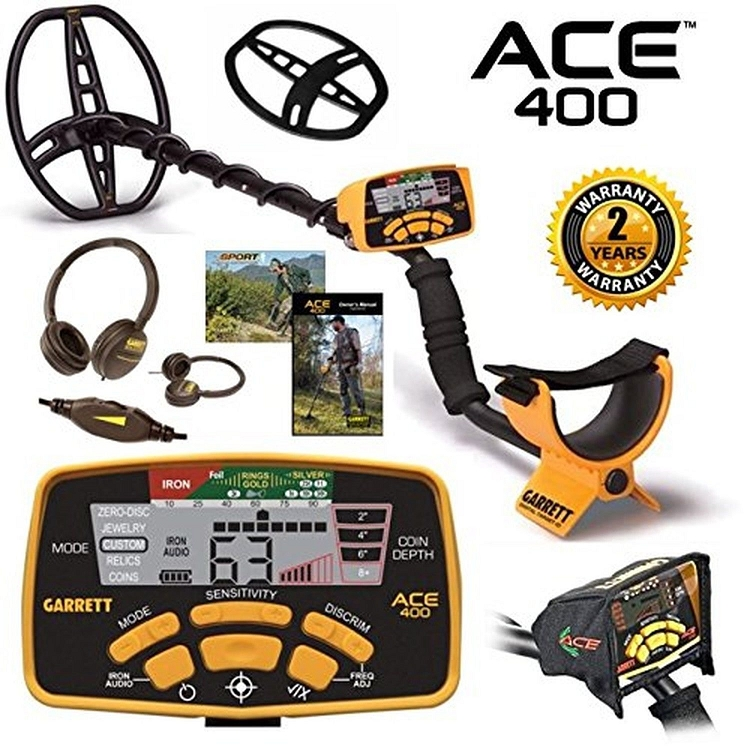 Garrett Ace 400 Metal Detector With Free Accessories