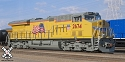 GE Tier 4 without DCC & Sound, Union Pacific # 2669