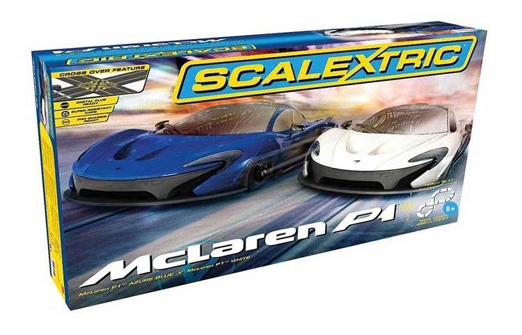 Scalextric, 1/32 Scale Mclaren P1 Slot Car Set