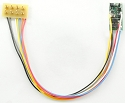 TCS, Z2P-MH - 2 function hardwire Decoder for Z/N Scale w/plug