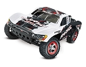 Slash: 1/10-Scale 2WD Short Course Racing Truck with TQ 2.4GHz Radio System and On-Board Audio - WHITE
