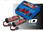 Battery/charger completer pack (includes #2972 Dual iD charger (1), #2872X 5000mAh 11.1V 3-cell 25C LiPO battery (2))