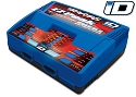 Charger, dual, EZ-Peak Plus, 100W, NiMH/LiPo with iD Auto Battery Identification