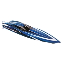 Spartan:  Brushless 36' Race Boat with TQi Traxxas Link Enabled 2.4GHz Radio System TSM (No Battery/Charger)