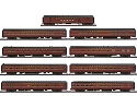 Walthers, 1960s Broadway Limited - Deluxe 9-Car Set #2