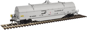 42' Coil Steel Car w/Fishbelly Side Sill - Ready to Run - Master(R) -- Conrail #623668 (gray, black, CoilShield 2 Markings)