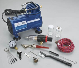 Find paasche d3000r air brush compressor automatic limit