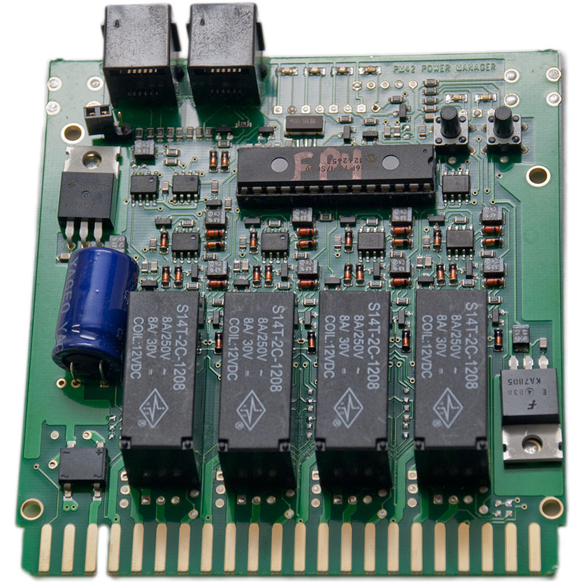 Digitrax PM42 Quad Section Power Manager -- With Auto Reversing