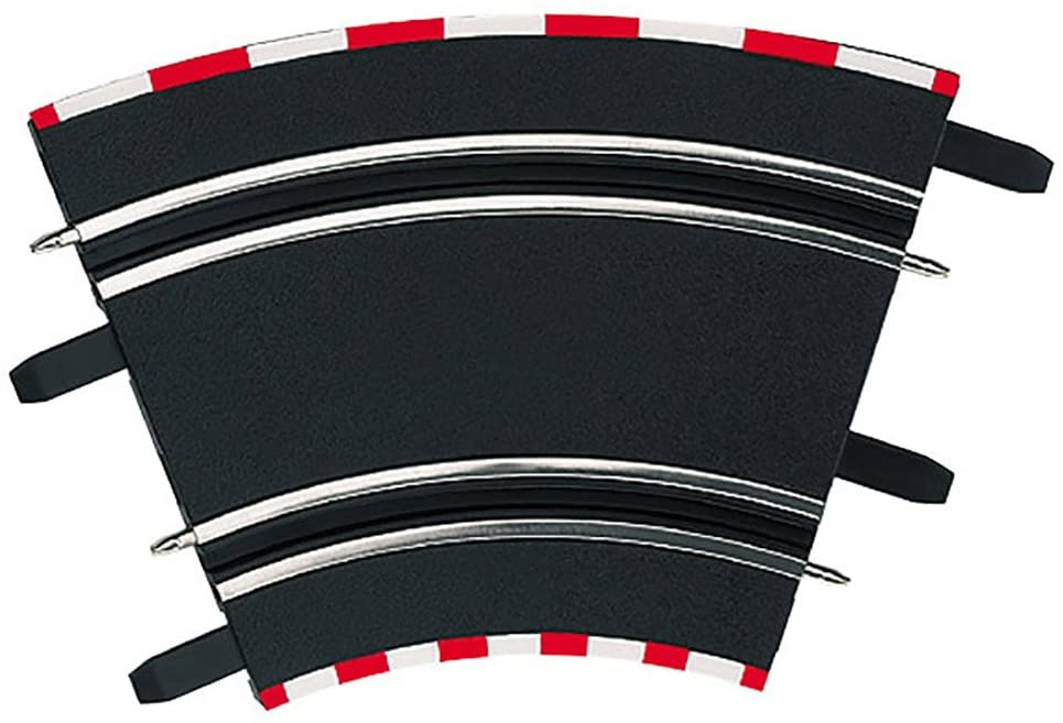 Carrera 61612 1/45 High Banked Curve (4 pieces), For use only with Carrera GO!!!