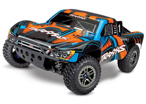 Slash 4X4 Ultimate:  1/10 Scale 4WD Electric Short Course Truck with TQi Radio System, Traxxas Link Wireless Module, & Traxxas Stability Managment (TSM)