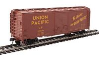 Walthers Mainline HO 40' ACF Welded Boxcar w/8' Youngstown Door - Ready to Run -- Union Pacific(R) #125276