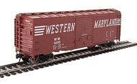 Walthers Mainline HO 40' ACF Welded Boxcar w/8' Youngstown Door - Ready to Run -- Western Maryland #4205