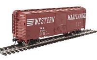 Walthers Mainline HO 40' ACF Welded Boxcar w/8' Youngstown Door - Ready to Run -- Western Maryland #4420