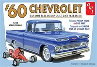 AMT 1/25 1960 Chevy Fleetside Pickup w/Go Kart Plastic Model Kit