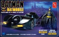AMT 1/25 1989 Batmobile w/Resin Batman Figure Plastic Model Kit