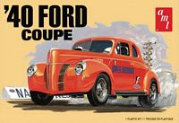 AMT 1/25 1940 Ford Coupe Plastic Model Kit