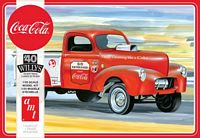 AMT 1/25 1940 Willys Pickup Gasser Coca Cola Plastic Model Kit