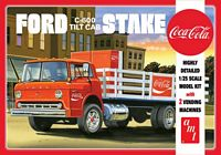 AMT 1/25 Ford C600 Stake Bed w/Coca-Cola Machine Plastic Model Kit