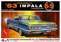 AMT 1/25 1963 Chevy Impala SS Plastic Model Kit