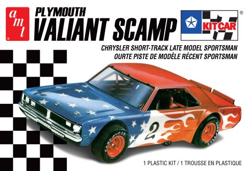 AMT 1/25 Plymouth Valiant Scamp Kit Car Plastic Model Kit