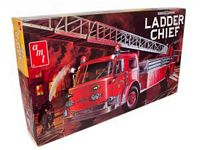 AMT 1/25 American LaFrance Ladder Chief Fire Truck Plastic Model Kit