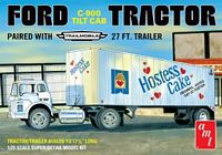 AMT 1/25 Ford C600 Hostess Truck with Trailer Plastic Model Kit