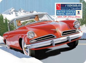 AMT 1/25 '53 Studebaker Starliner USPS Coll Plastic Model Kit