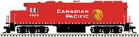 EMD GP40-2 - Standard DC - Master(R) Silver -- Canadian Pacific #4657 (red, white; Golden Beaver Logo)