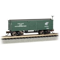 Bachmann N Scale Old Time Box Car C&NW