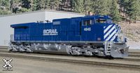 Operator HO Scale GE DASH 9-44CW, BC Rail (R3), 4651/DCC & Sound Equipped
