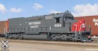 Rivet Counter HO Scale EMD SD40T-2, Southern Pacific/As Delivered (Run 3), 8357/DCC & Sound Equipped/SP light package