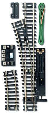 Code 100 Remote Control Snap-Switch(R) Turnout - Nickel-Silver Rail -- Left-Hand