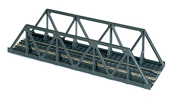 Atlas HO 65' Warren Truss Bridge - Kit -- Code 100 Nickel-Silver Rail - 9