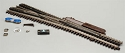 21st Century Track System(TM) Nickel Silver Rail w/Brown Ties - 3-Rail -- #5 Turnout Left Hand