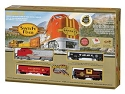 Santa Fe Flyer Train Set -- Santa Fe