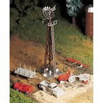 Plasticville U.S.A.(R) Classic Kits -- Windmill w/Farm Machinery