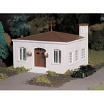 Plasticville U.S.A.(R) Classic Kits -- Police Station w/Police Car