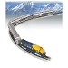 McKinley Explorer Train Set -- Alaska Railroad