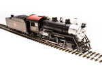 HO 2-8-0 Consolidation - Sound, Smoke and DCC - Paragon3 -- Chicago, Burlington & Quincy C&S 638 (black, silver, Boxcar Red)