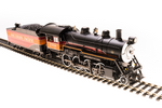HO 2-8-0 Consolidation - Sound and DCC - Paragon3 -- Southern Pacific 2708 (Daylight, black, orange, red, silver)