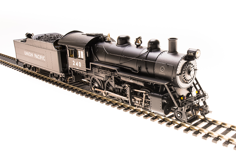 HO 2-8-0 Consolidation - Sound and DCC - Paragon3 -- Union Pacific 240 (black, graphite)