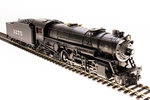 HO USRA 2-8-2 Heavy Mikado with Sound and DCC - Paragon3 -- Atchison, Topeka & Santa Fe #3278 (black, graphite)
