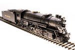 HO USRA 2-8-2 Heavy Mikado with Sound and DCC - Paragon3 -- Nickel Plate Road 686 (black, graphite)