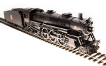 HO USRA 4-6-2 Heavy Pacific - Sound and DCC - Paragon3 -- Grand Trunk Western 5631 (black, graphite, red Tilted Rectangle Logo)